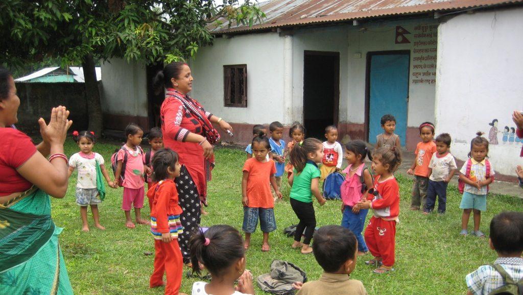 Kindergarten in Jhapa