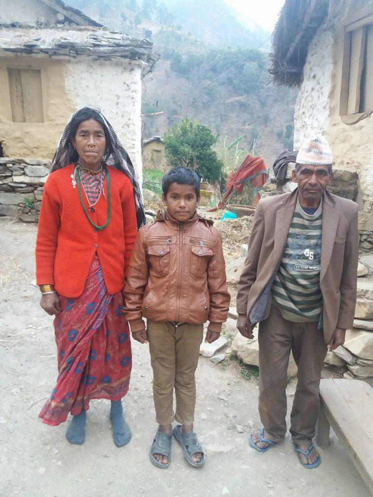 2018-BAJ-0008_Jeevan_Karki_Family