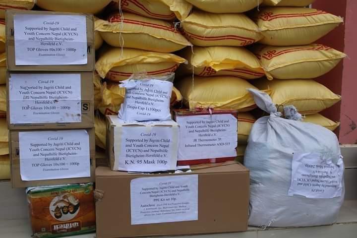und 4380 kg Reis