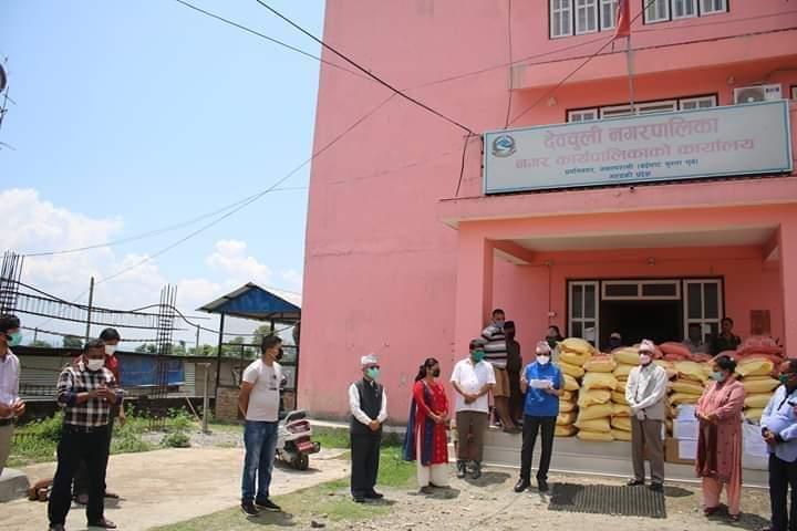 Medizinische Hilfsgüter werden geliefert